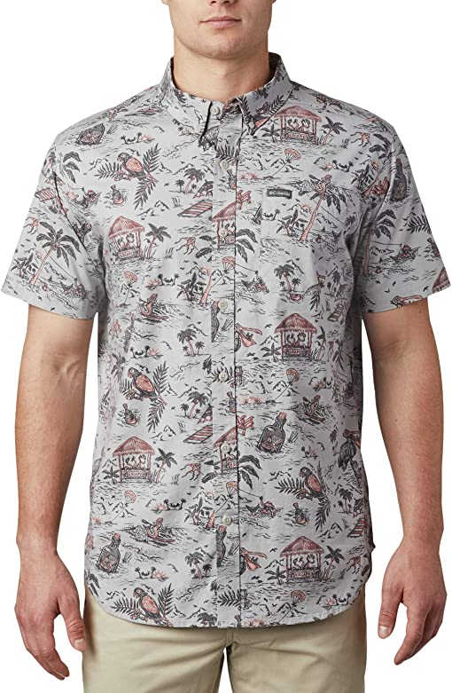 Columbia Grey Lost In Paradise Print
