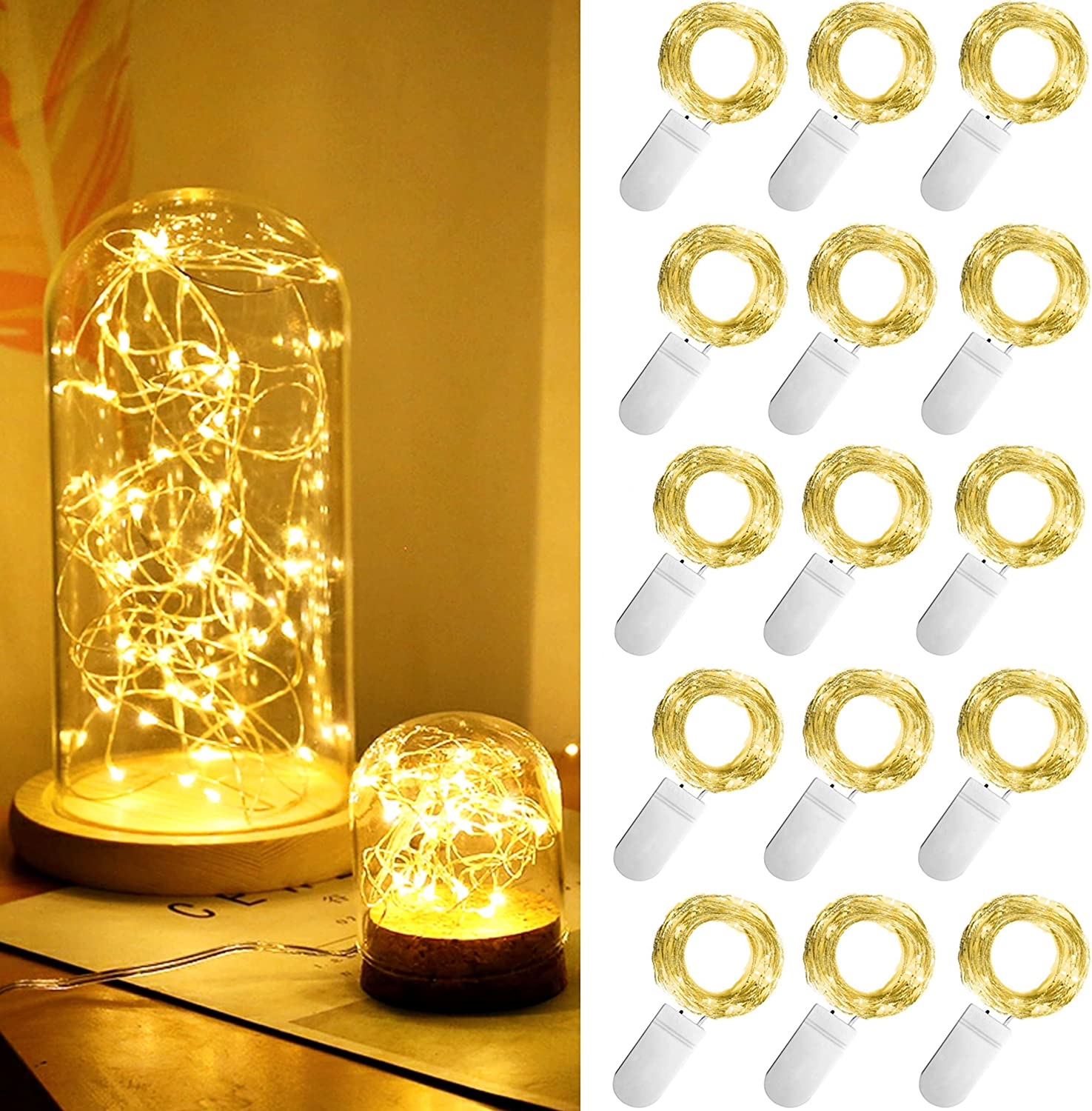 SmilingTown Complete Free Shipping Starry Fairy String Lights Color LED Seattle Mall Silver Firefly
