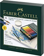 Faber-Castell Albrecht Durer Watercolor Pencil Studio Gift Set, Box of 36 Colors (FC117538)