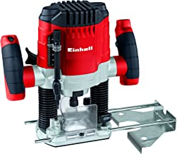 Einhell TC-RO 1155 E Fresadora, 1100 W, 230 V, 7 niveles de fresado, control electrónico (ref. 4350470)