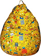 Sattva Back to College FK01001115 XXXL Bean Bag Without Beans (Yellow Youth)