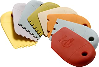 Mercer Culinary Silicone 8 Piece Plating Wedge Set, Multicolor