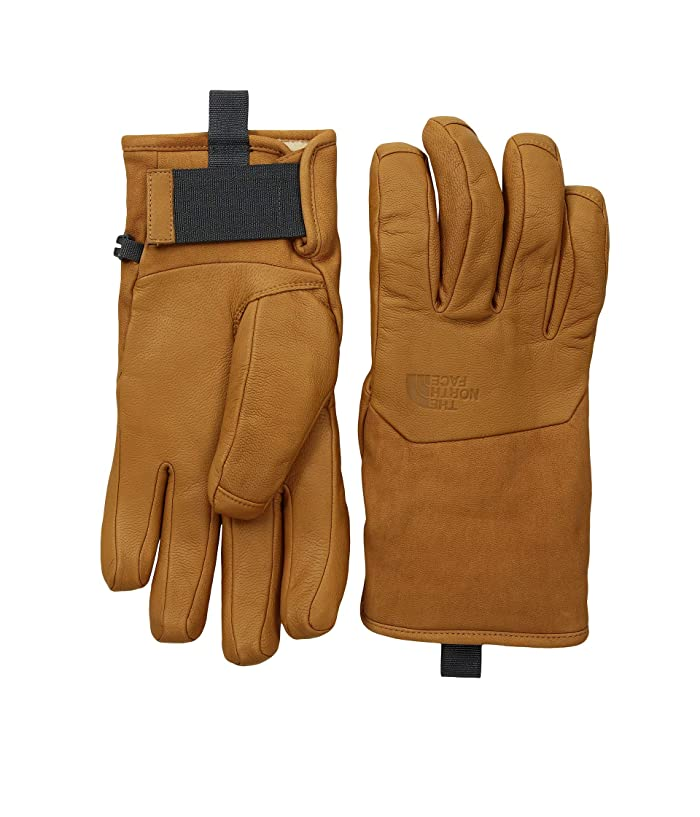 The North Face Leather IL Solo Gloves (Timber Tan) Extreme Cold Weather Gloves