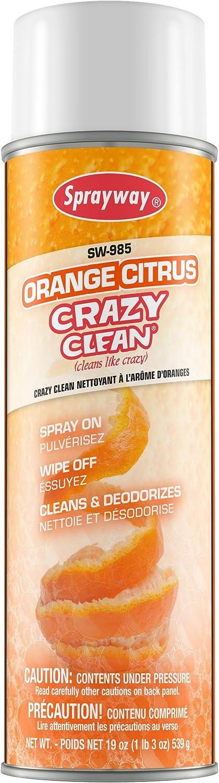 Sprayway Max 85% OFF SW985 Orange Citrus Sale price Clean 12 Crazy Case