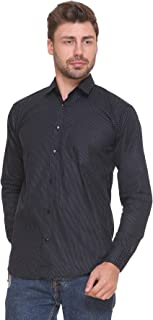 ZAKOD Polka Print Cotton Shirts for Men for Casual Use,Normal Wear Shirts,Available Sizes M=38,L=40,XL=42,100% Pure Cotton Shirts