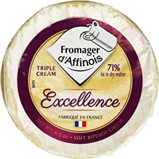 Excellence Imported French Brie, Triple Creme, 6.5 oz