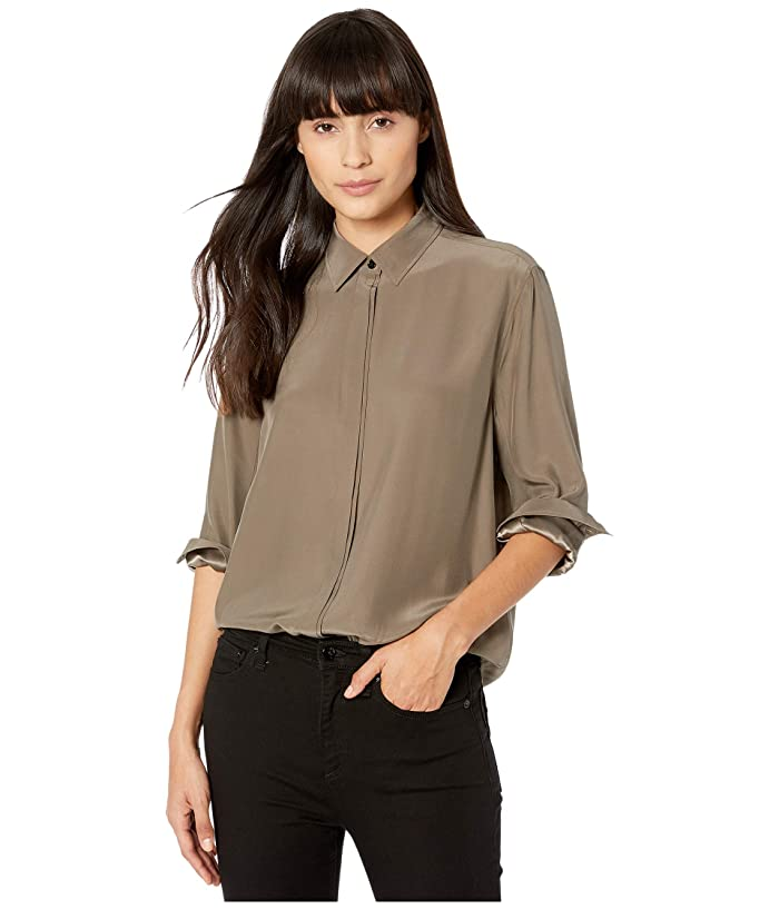 rag and bone  Anderson Shirt (Grey Moss) Womens Clothing