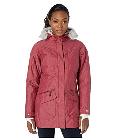 Columbia Carson Pass IC Jacket (Beet/Chalk Sherpa/Chalk) Women