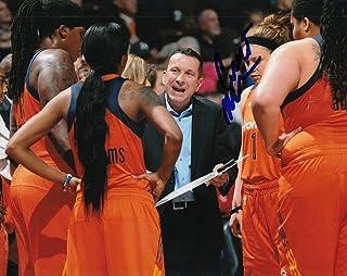 CURT MILLER signed (CONNECTICUT SUN) WNBA basketball 8X10 photo W/COA #1 - Autographed WNBA Photos