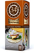 34 Degrees Cracked Pepper Crisps, 4.5 Ounce Boxes (Pack of 6)