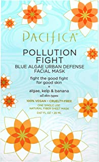 Pacifica Beauty Pollution Fighter Blue Algae Urban Defense Facial Mask, 1 count