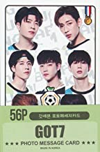 K-POP Group 2019 New Photo Message Card 56pcs Set (Postcard / 56sheets) (GOT7)