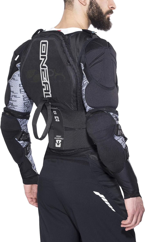 O Neal Protektoren Jacke Motocross Enduro Rückenprotektor Mit Ipx Schaum Elastischer Nierengurt Umfangreiche Mesh Belüftung Madass Moveo Protector Jacke Erwachsene Schwarz Größe Xxl Bekleidung