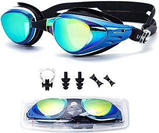 09c8e17a2f UTOBEST Gafas para Nadar Gafas de Natación Protección contra Miopía y Rayos  UV Cintas