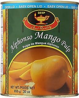 Deep, Alphonso Mango Pulp, 850 Grams(gm)