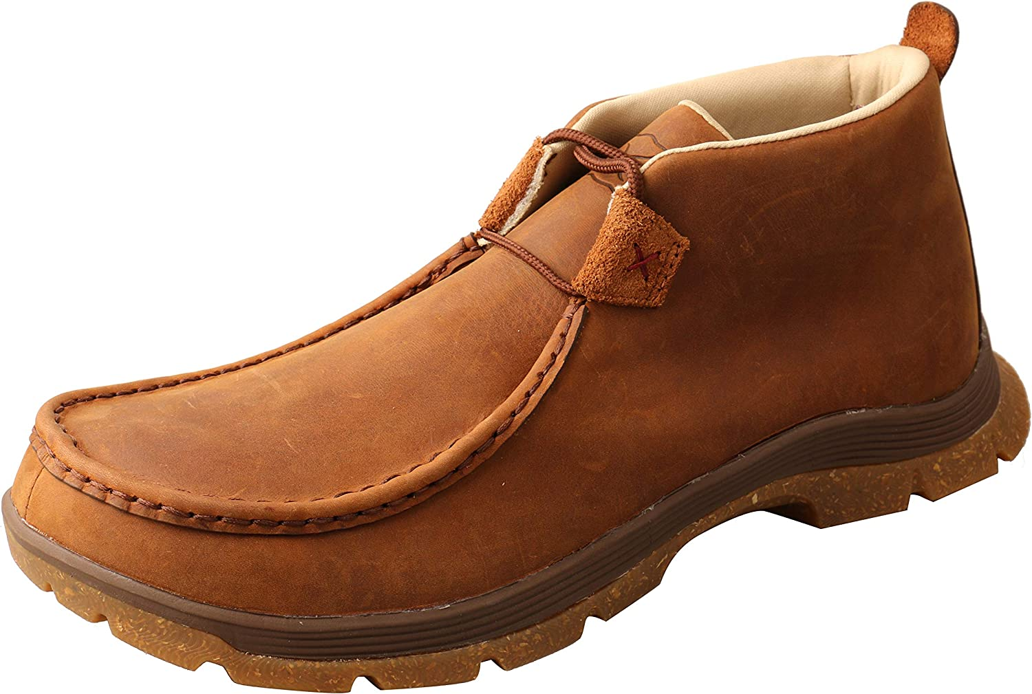 Twisted X Men's Chukka Time sale Great interest Toe Oblique