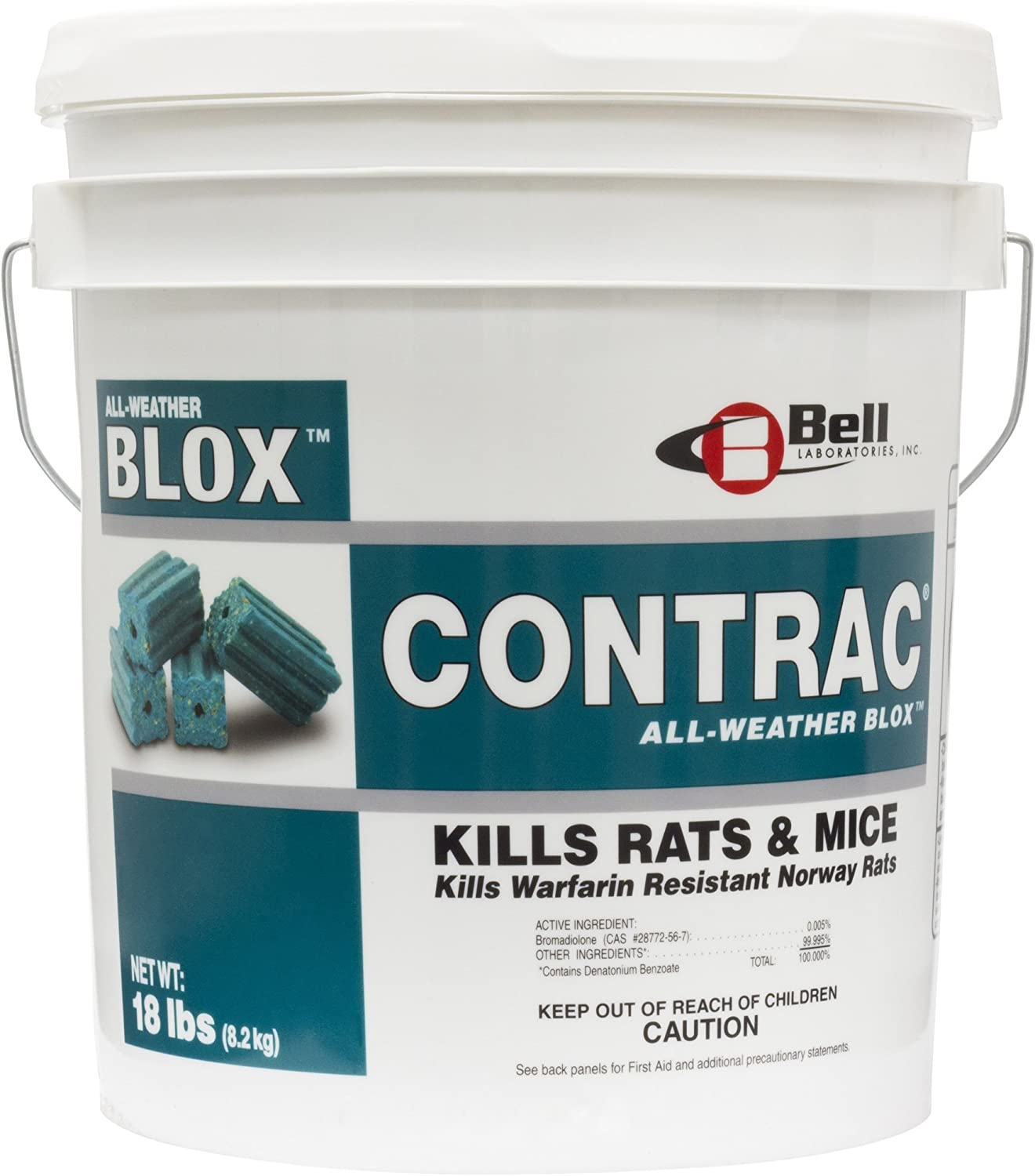 Bell Labs Bargain sale Contrac All Weather Lb 18 BELL Blox Max 88% OFF Pail