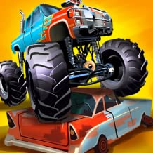 Impossible Monster Truck Destruction Demolition Derby: Racing Stunt Simulator Games 2020