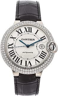 Ballon Bleu de Cartier Mechanical (Automatic) Silver Dial Mens Watch WE900951 (Certified Pre-Owned)