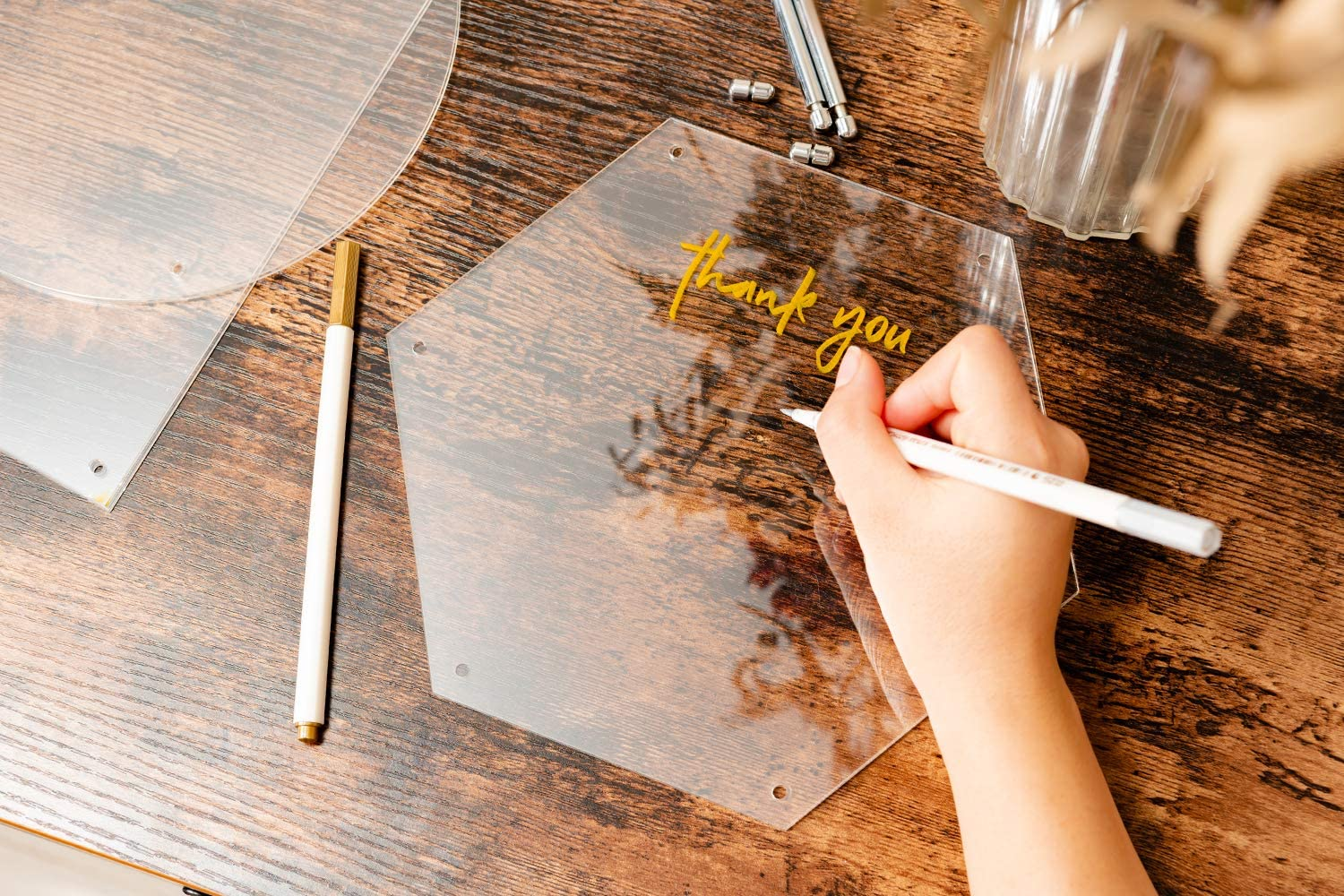 """DIY Display Projects Calculs Acrylic Sheet Clear Cast Plexiglass 8/"""" x 6.5 Panel Suqare 1//8 Thick 3mm Craft Transparent Plastic Plexi Glass Board with Protective Paper for Signs"""