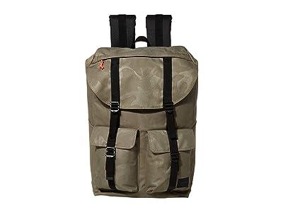 Herschel Supply Co. Buckingham (Dusty Olive/Tonal Camo) Backpack Bags