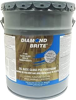 Diamond Brite Paint 71000 5-Gallon Clear Gloss Polyurethane