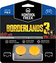 KontrolFreek Borderlands 3 Claptrap Performance Thumbsticks Para PlayStation 4 (PS4) | 2 Thumbsticks de media altura Convexos | Amarillos
