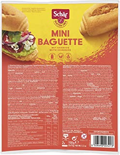 Dr. Schar Mini Baguette 2 x 75gr, Gluten Free by Agora Products