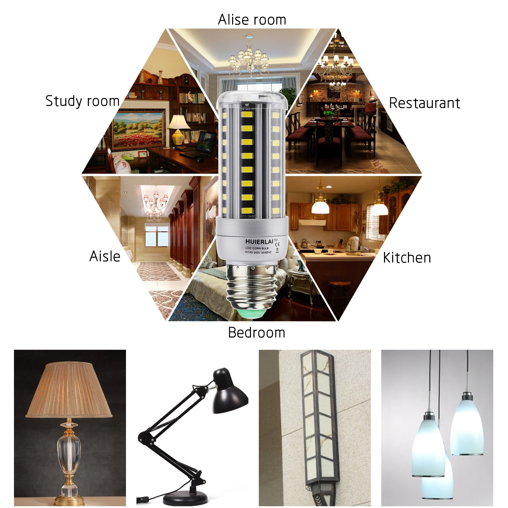 12W LED 6000k 4p (12 Watt): Amazon.es: Iluminación