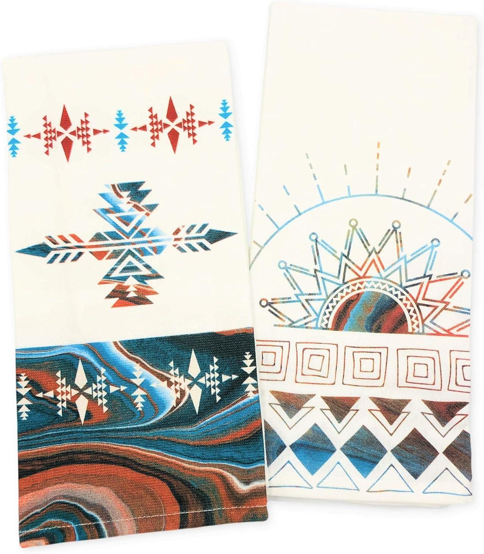 Max 41% OFF Kay Dee Max 63% OFF Designs Southwest Vistas Towel Tea Dua Pattern Sunrise