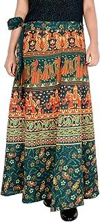 Rajvila Rajasthani Jaipuri Print Skirt for Women Comfortable Skirt for Women (F_W40NT_0007)