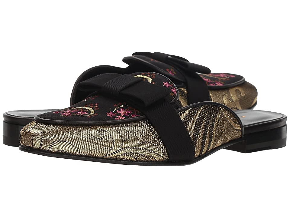 Etro Brocade Slide (Ivory) Women