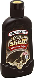 Smucker's Magic Shell Topping, Chocolate Fudge, 7.25 Ounce
