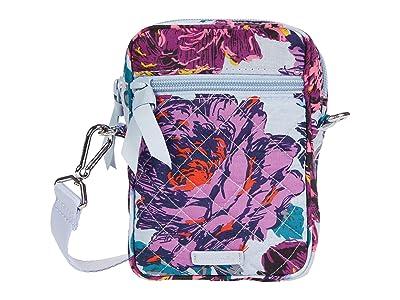 Vera Bradley RFID Convertible Small Crossbody (Neon Blooms) Handbags