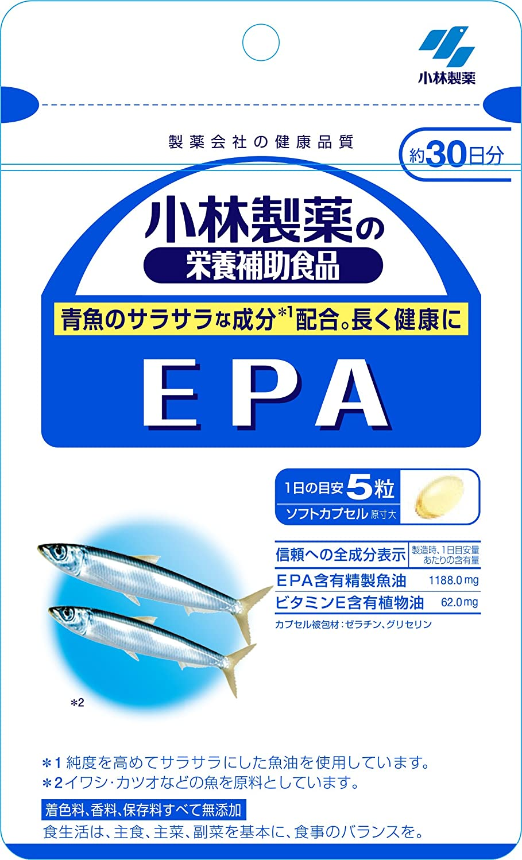 付属品ライトニングヒョウ小林製薬の栄養補助食品 EPA 約30日分 150粒