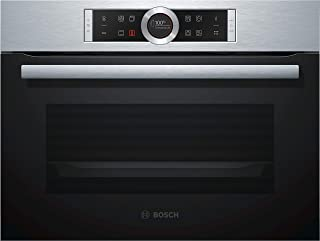 Bosch Serie 8 CBG675BS3 - Horno (Medio, Horno eléctrico, 47 L, 47 L, 30-300 °C, 275 °C)