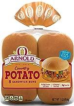 Arnold Country Potato Hamburger Buns, 15 Oz, 8 Count