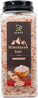 Soeos Himalayan Salt, Pink Salt, 2.4 lb (38.8oz). Himalayan Pink Salt, Coarse Grain Himalayan Salt, Natural Pink Salt - Fo...