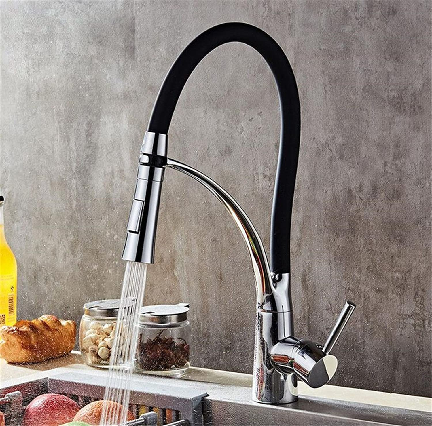 DMR Black Kitchen Sink Mixer Tap Kitchen Bathroom Sink Brass Mixer Tap With Creative American Vegetables Basin Sink redation Dual Head Water Shower Hot And Cold Water Tap