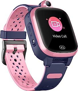 Fitonme 4G Reloj Inteligente para Niños - Smart Watch con GPS con Posición en Tiempo Real a Prueba de Agua, WiFi, Mensaje ...