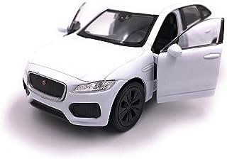 H Customs Jaguar F Pace SUV Modellauto Auto Lizenzprodukt 1:34 1:39 weiß