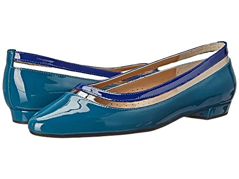Womens Shoes Vaneli Germain Teal Mag Patent/Storm Blue Mag Patent/Clear Vinyl