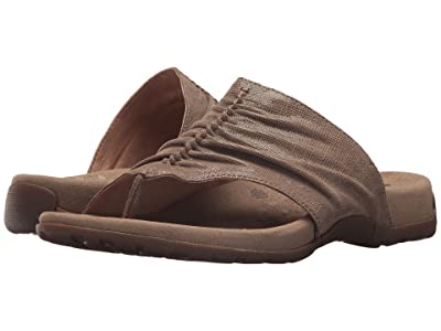 Taos Footwear Gift 2 (Taupe Printed Leather) Women
