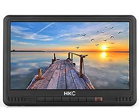 HKC P10H6 Mini TV portátil (TV HD de 10 Pulgadas) HDMI +