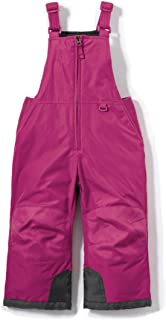 Toddler's Rip-Stop Snow Bib Windproof Ski Insulated Water-Repel Overalls