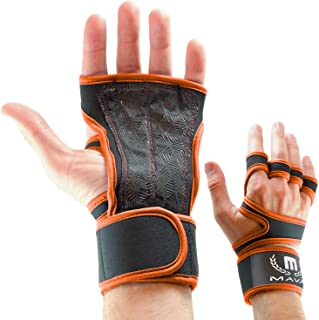 Mava Sports Cross Training Gloves with Wrist Support for Fitness, WOD, Weightlifting, Gym Workout & Powerlifting - Silicon...