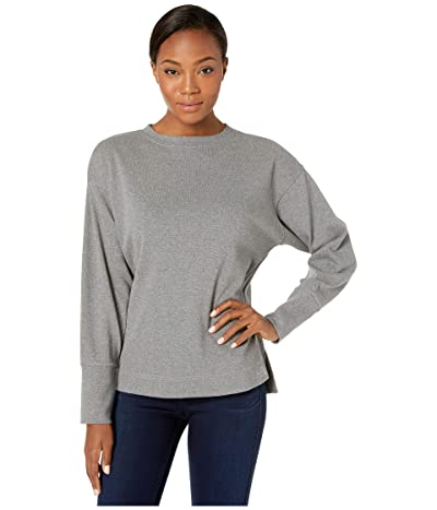 The North Face Long Sleeve Outerlands Waffle (TNF Medium Grey Heather) Women