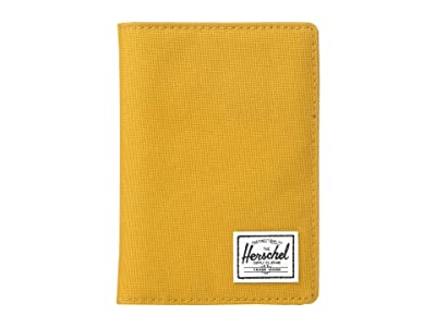 Herschel Supply Co. Raynor Passport Holder RFID (Buckthorn Brown) Wallet Handbags