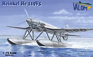 Valom 1/72スケール Heinkel He 119V5 - プラスチックモデル組み立てキット #72111