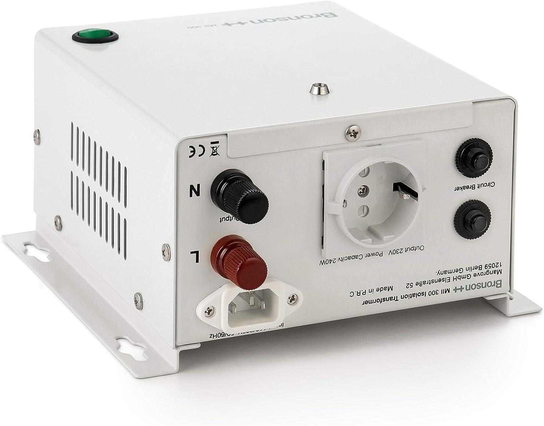 230V Bronson+ in Out 110V//230V MII 300 Transformateur disolation galvanique//disolement//de s/éparation 300 Watts